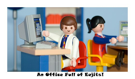 An Office Full of Eejits