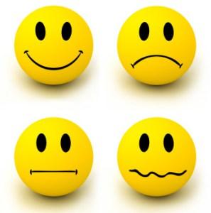 4 emoticons